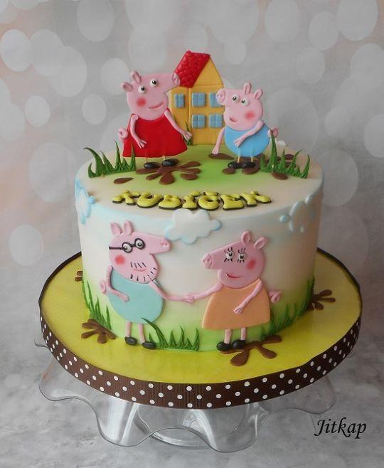 Peppa Pig Kindergeburtstagstorte Geburtstagstorte Kuchen Rezepte