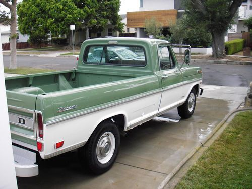 Sell Used 1969 Ford F250 Ranger Rust Free California Truck In Los Ford Trucks Old Pickup Trucks Classic Trucks