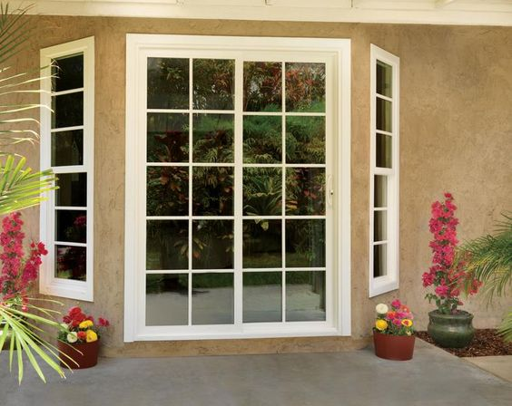 Patio French Patio And Vinyl Windows On Pinterest