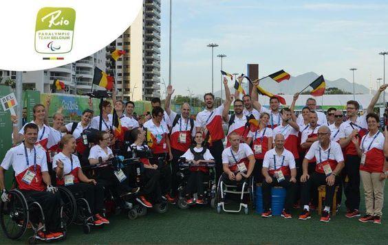 Paralympic Games - Team Belgium | Rio 2016 - Nous souhaitons force, courage et beaucoup de plaisir à tous nos athlètes qui participent aux Jeux Paralympiques 2016