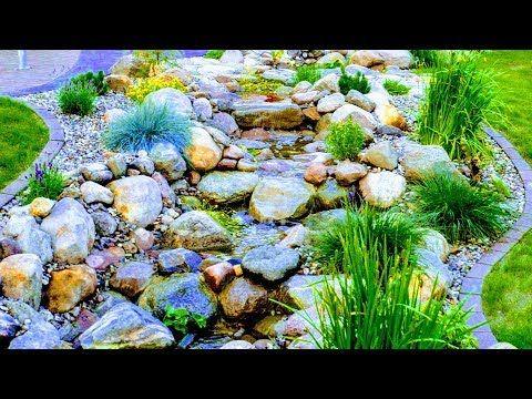 18m Natur Bachlauf Im Garten Bauen Anleitung Fur Stein Bach Profi Tipps Zu Teichfolie Beton Wasser Youtube Bachlauf Im Garten Wasserfall Garten Naturgarten