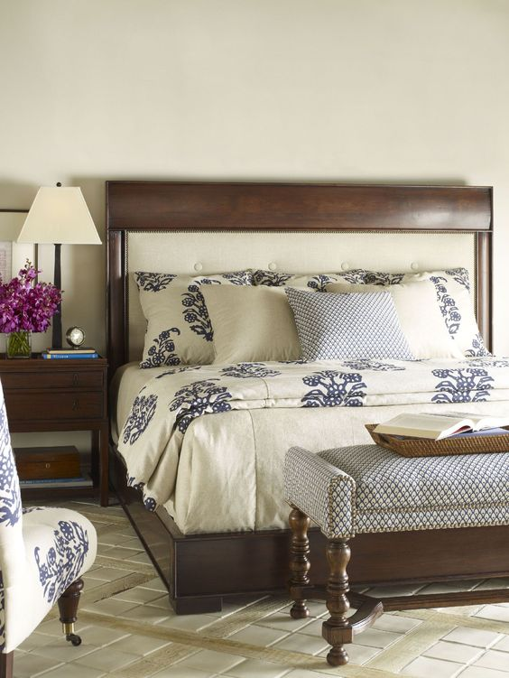 Chaddock Bedroom Sutton Upholstered Bed CE1640 - Chaddock - Morganton, NC