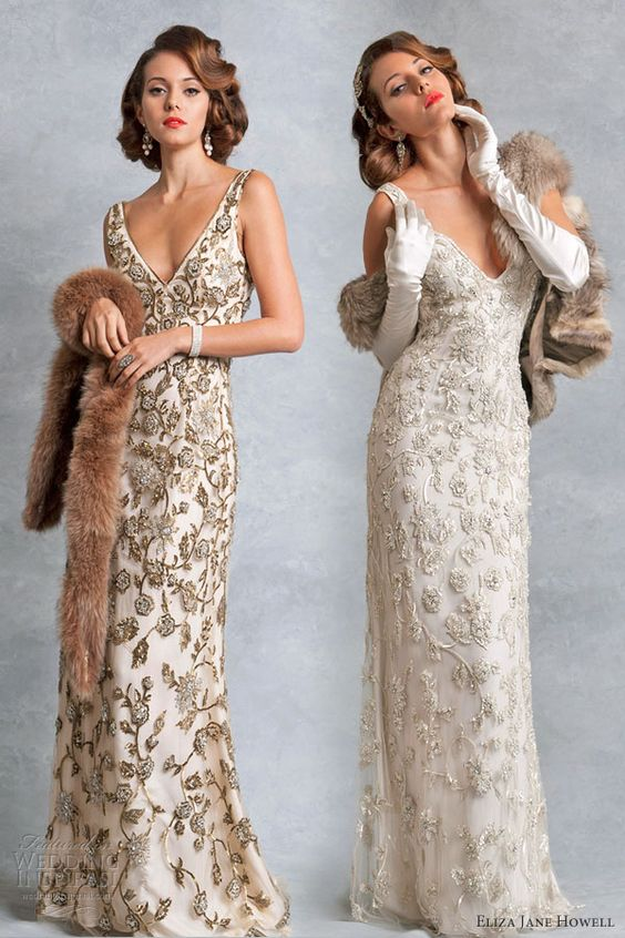 Wedding Dresses  Vintage inspired Wedding and Gowns