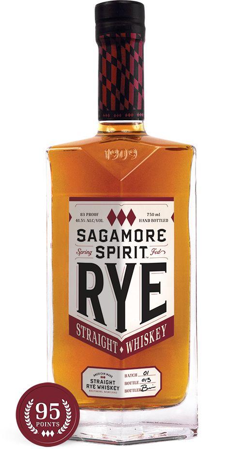 Sagamore Spirit Md Whiskey Bottle Whiskey Bottle