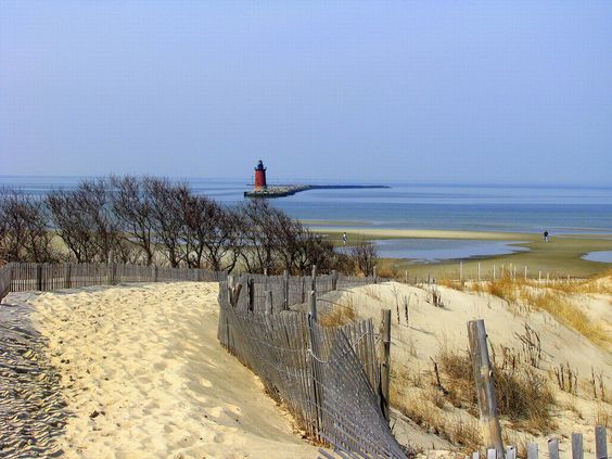 Lewes Delaware Beaches | Cape Henlopen, Lewes, Delaware - Human and Natural