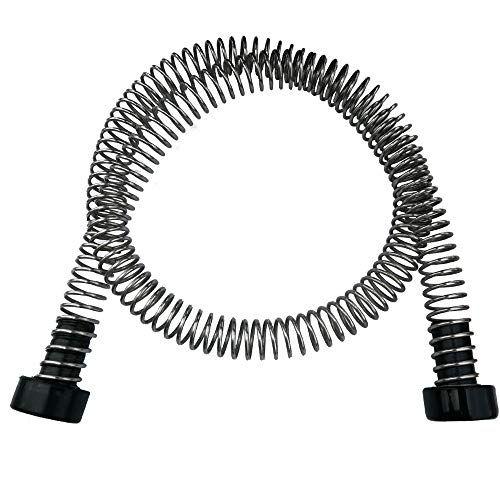 Carapeak Heavy Duty Stainless Steel Zipline Spring Brake Extra Long 6 3 Ft Fits Cable Up To 1 2 Kids Backyard Zip Line Braking System Stop Stopper For 3 16 1 Backyard For Kids Ziplining Cool