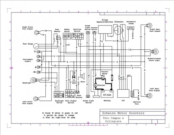 Pride Legend Scooter Wiring Diagram Bookingritzcarlton Info Electrical Wiring Diagram Electrical Diagram Chinese Scooters