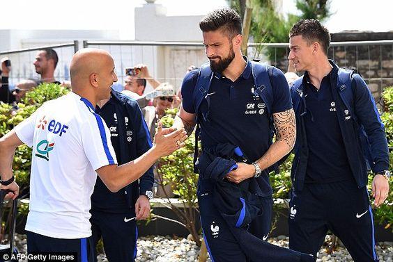 France stars meet up as Euro 2016 hosts begin their preparations