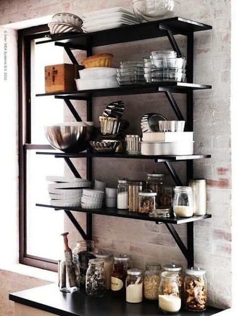 Instead of Bakers Rack.