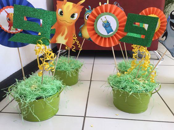 Fiesta tem tica bajoterra preparado por joy 39 s creaciones for Webs decoracion online