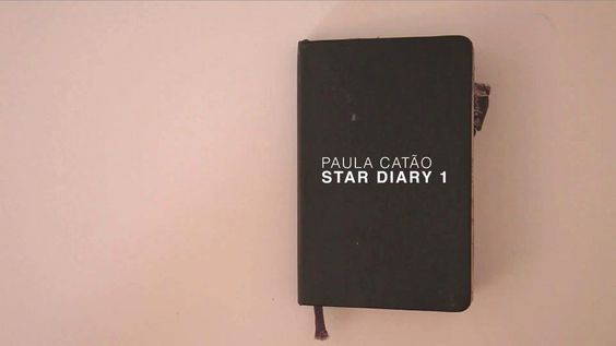 Star diary sketchbook I by Paula Catão http://www.flickr.com/photos/magic_fly/sets/194418/  #sketchbook  #mixed_media #artists_book #video #planets #stars