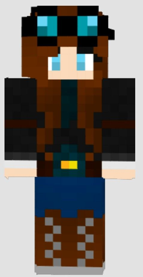 Dantdm In The Girl Version | Need (Minecraft) | Pinterest