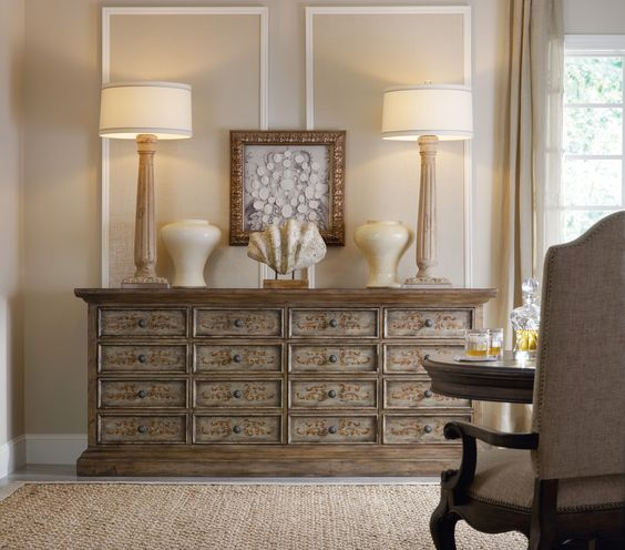 large sideboard driftwood finish tall lamps entry piece or dining room sideboard bedroom sideboard furniture