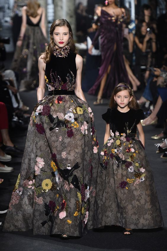 Elie Saab Fall 2016 Couture Fashion Show: