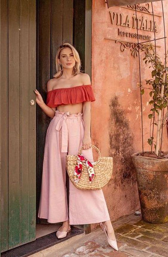 Looks de Verão: como usar bolsa de palha no dia a dia?