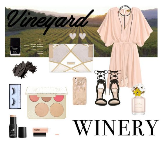 """""""Wedding guest"""" by kpart96 ❤ liked on Polyvore featuring Bølo, Isabel Marant, ALDO, New Look, Forever 21, River Island, e.l.f., Becca, Huda Beauty and Bobbi Brown Cosmetics"""