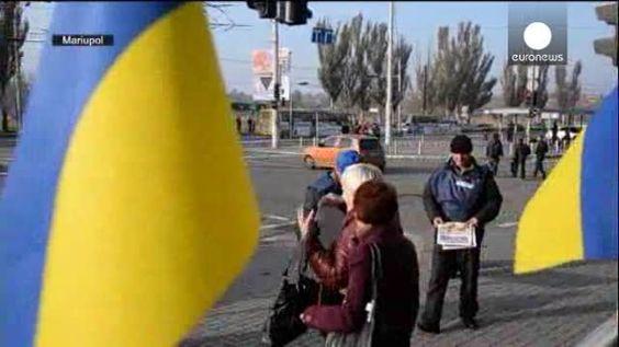 Horas previas a las elecciones en el este de Ucrania