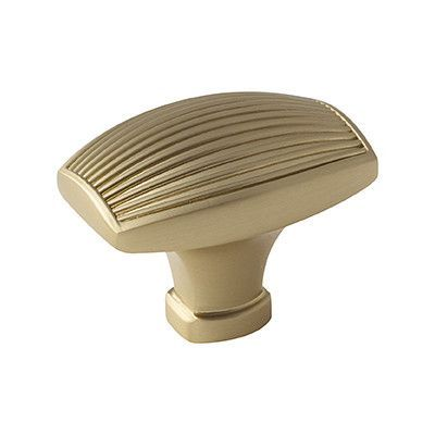 Amerock Sea Grass Rectangular Knob Finish: