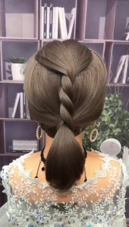 Hair Style Glistenhair Sur Tiktok Hairstyle Tutorial Pretty This Is Easy And Look Pretty Hair Styles How To Look Pretty Hair Accessories