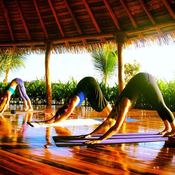 Pin for Later: 11 Creative Vegas Alternatives For Your Bachelorette Party Plan a Yoga Retreat For the bride who's looking to stay centered, a calming yoga retreat can be the perfect mind-clearing option.