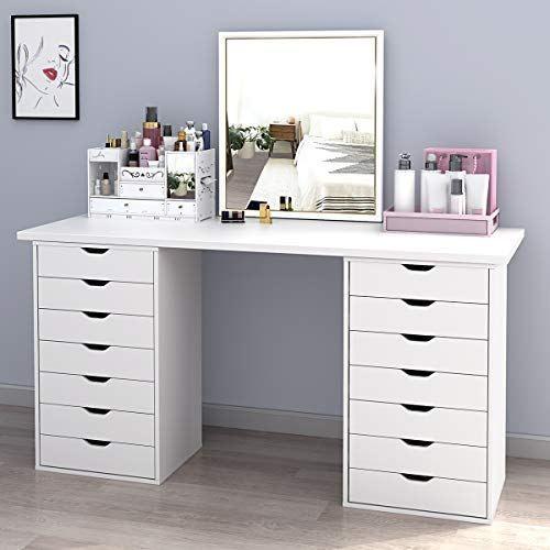 Devaise 7 Drawers Chest Storage Dresser Cabinet Ineedthebestoffer