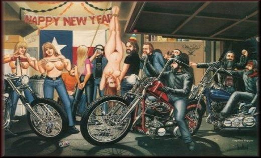 Harley Davidson Happy New Year – Merry Christmas And Happy New Year
