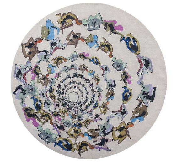 Les tapis circulaires
