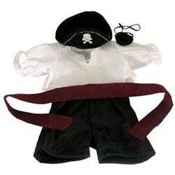 Pirate Costume for Stuff a Plush from Bear Haven Boutique