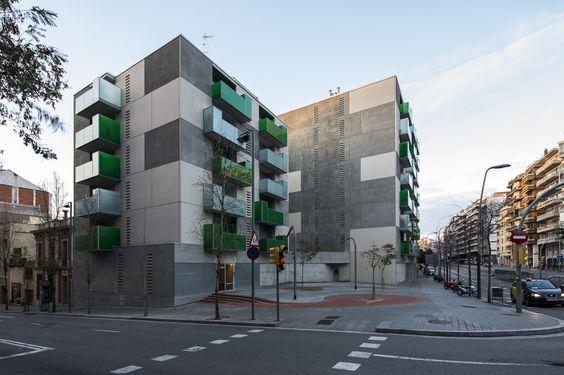 "Galeria - ""Santa Madrona"". 62 Habitações Sociais / Pich-Aguilera Architects - 51"
