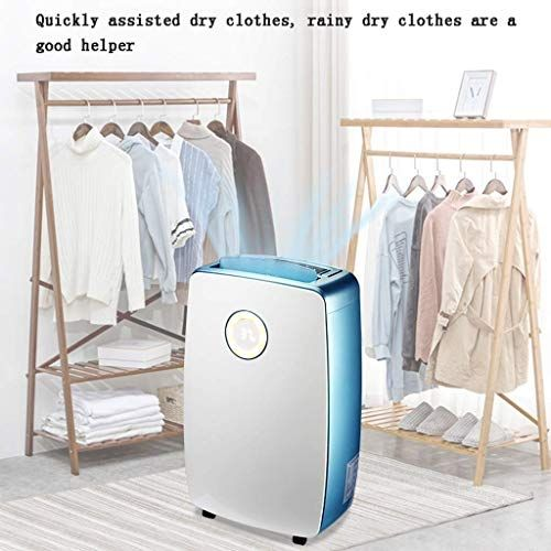 Dwlxsh Small Area Desiccant Dehumidifier Compact And Quiet With