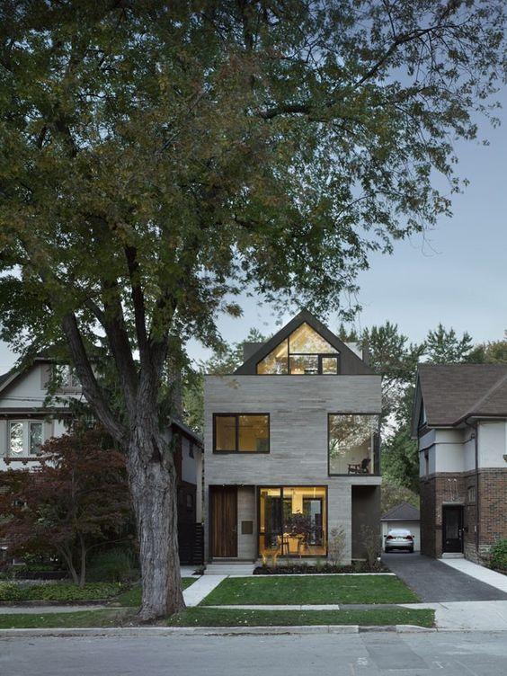 Casa em Toronto (Foto: Ben Rahn/A-Frame/Divulgação)