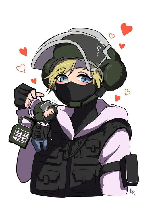Pin By Stay Woke On Gaming Related Tings Rainbow Six Siege Anime