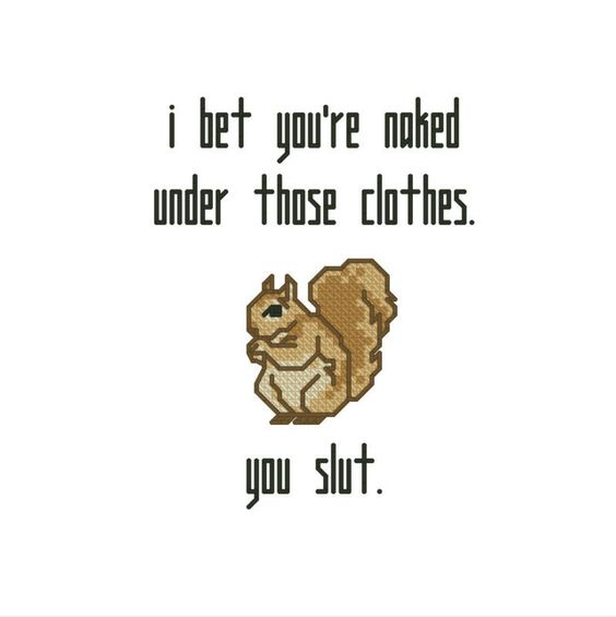 Modern embroidery subversive cross stitch funny quote