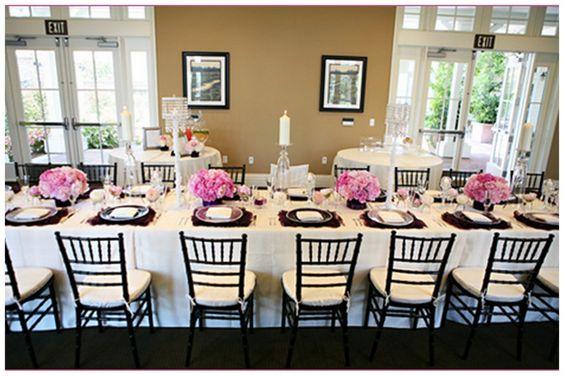 chanel bridal shower tablescape