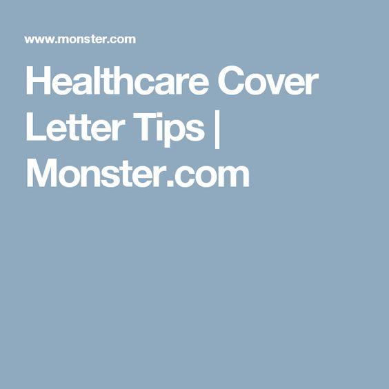 Cover letter tips monster