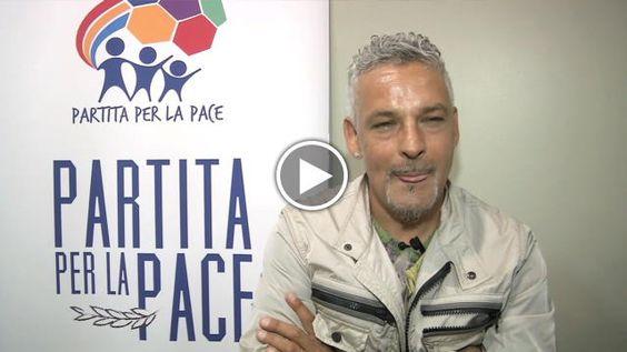 """Roberto Baggio tra le star della Partita per la Pace: """"Il calcio può unire il mondo"""" - Repubblica Tv - la Repubblica.it"""