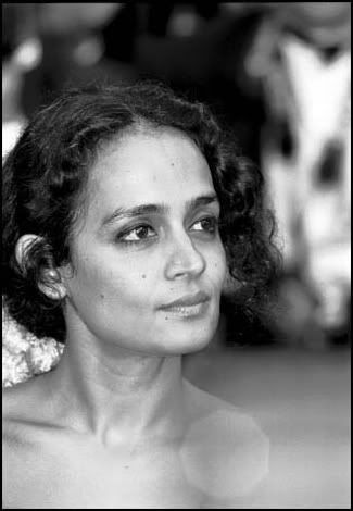 "Arundhati Roy. I have no words for how in awe of her I am.     ""Our strategy should be not only to confront empire, but to lay siege to it. To deprive it of oxygen. To shame it. To mock it. With our art, our music, our literature, our stubbornness, our joy, our brilliance, our sheer relentlessness — and our ability to tell our own stories. Stories that are different from the ones we're being brainwashed to believe...."""