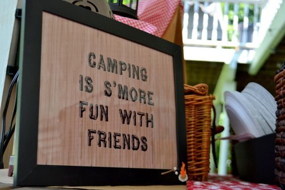 Outdoor Camping Camping Party Ideas Looking Forward Go