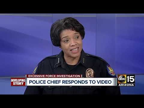 Phoenix Police Chief Apologizes To Family Community Over Shoplifting Incident Youtube Police Chief Police Chief