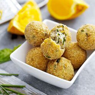 Ricotta Balls with Basil http://www.currys.co.uk/gbuk/cooking-fryer-recipes-1329-commercial.html#ricotta-balls