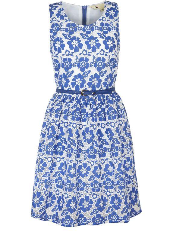 Flower Lace Dress @Yumi Direct #pintowin