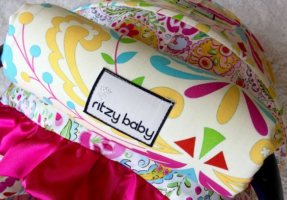Ritzy Baby Designs, LLC - SHIPS TODAY! Sujata Pink and Stripe Arm Pad, $18.00…
