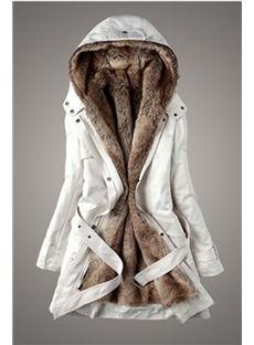 2015秋冬レディース  ファッション長いパラグラフスリムコットンコート