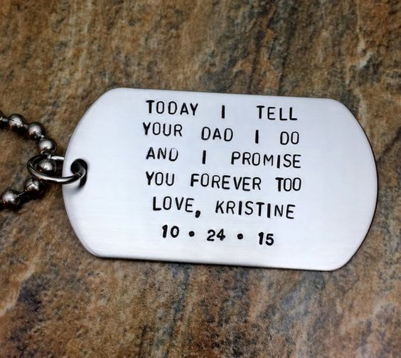 Wedding Gift Ideas For Step Daughter : hubby wedding wedding day gifts wedding 2017 stepson wedding gift step ...