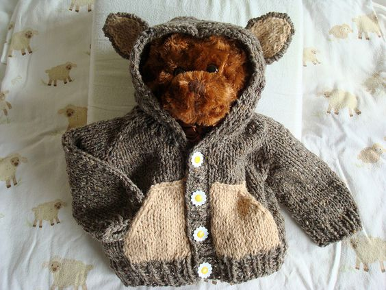 Knitting Pattern Bear Hoodie : Pinterest   The world s catalog of ideas