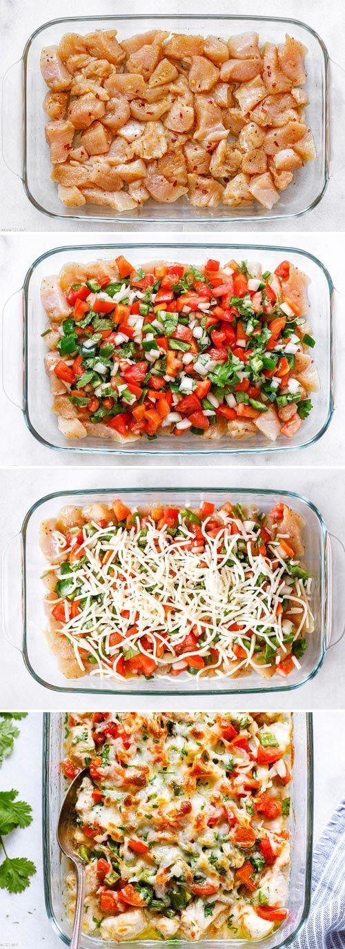 Salsa Fresca Chicken Bake | Healthy chicken recipes, Chicken recipes, Healthy cooking
