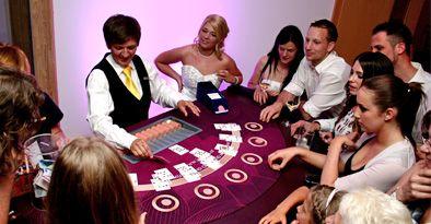 Mietcasino Jovkov - Roulette, BlackJack, Poker; Unterhaltung für die Hochzeit // casino for rent, wedding entertainment