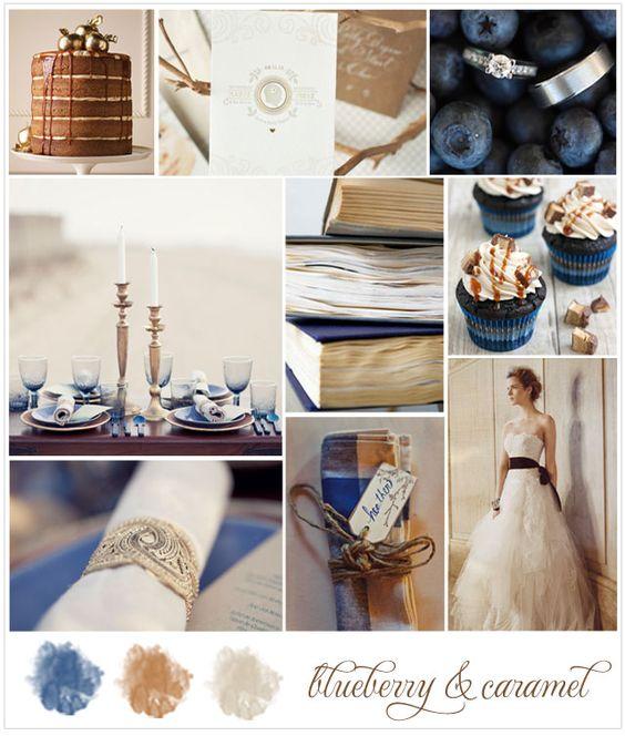Blueberry & caramel