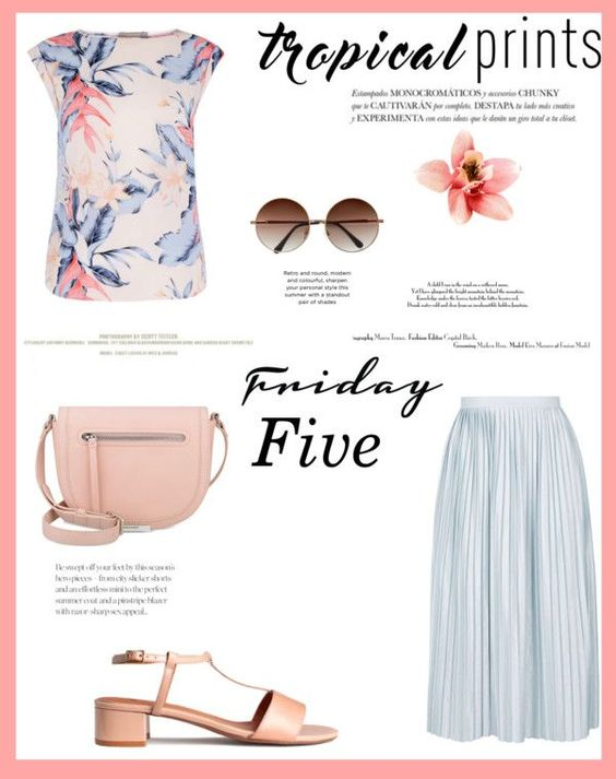 Friday Five: Tropical Prints