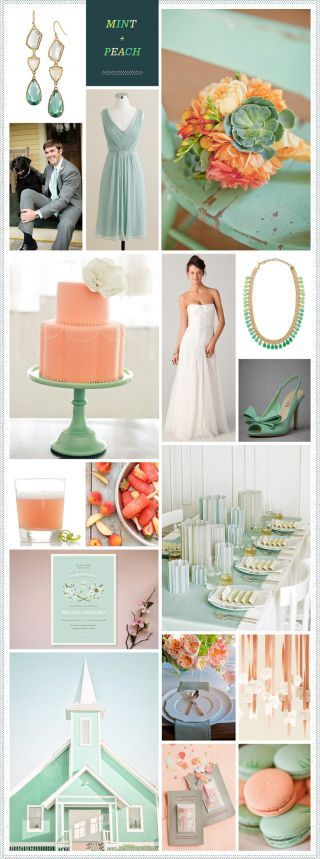 REVEL: Coral, Peach + Grey Wedding Inspiration  A color palette with an option to gray